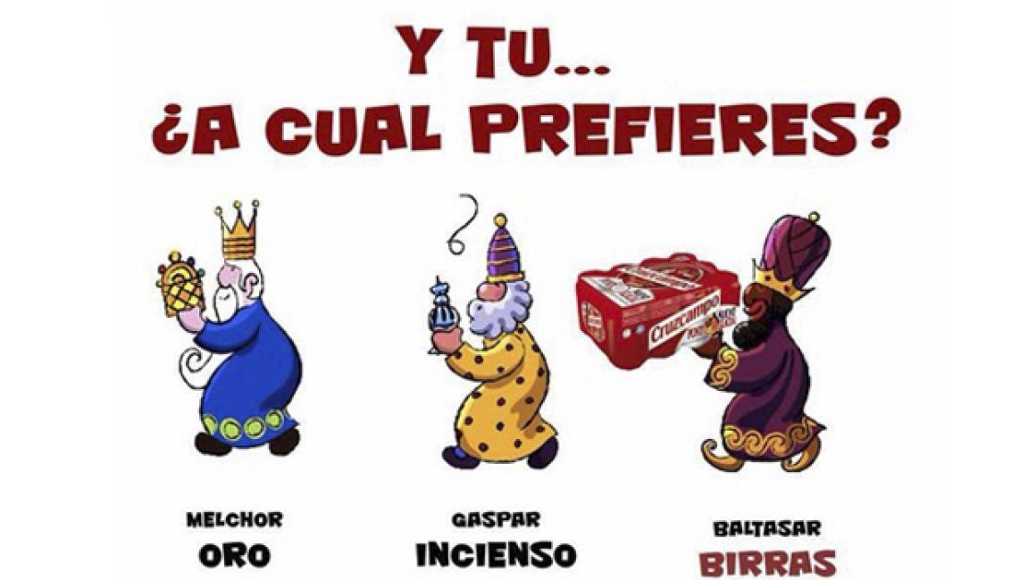 Muchos de vosotros seguro que os quedáis con Baltasar sin dudarlo (Visto en elhumordeJulio.blogspot.com)