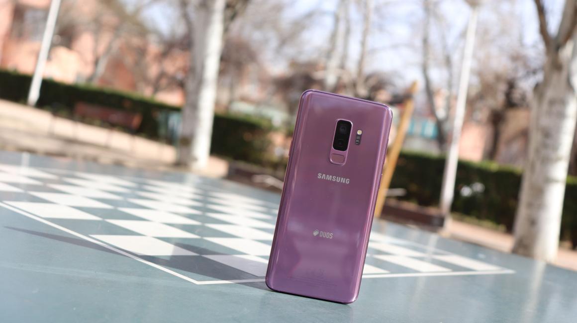 Diseño del Samsung Galaxy S9+