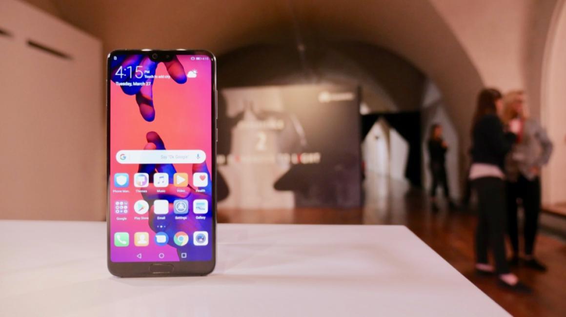 Huawei P20 Pro: diseño
