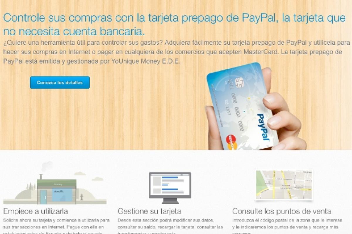 Paypal EspaГ±a