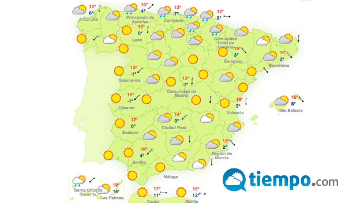 Mapa De Tiempo Espana.Las Mejores Webs Para Conocer La Prevision Del Tiempo Life Computerhoy Com