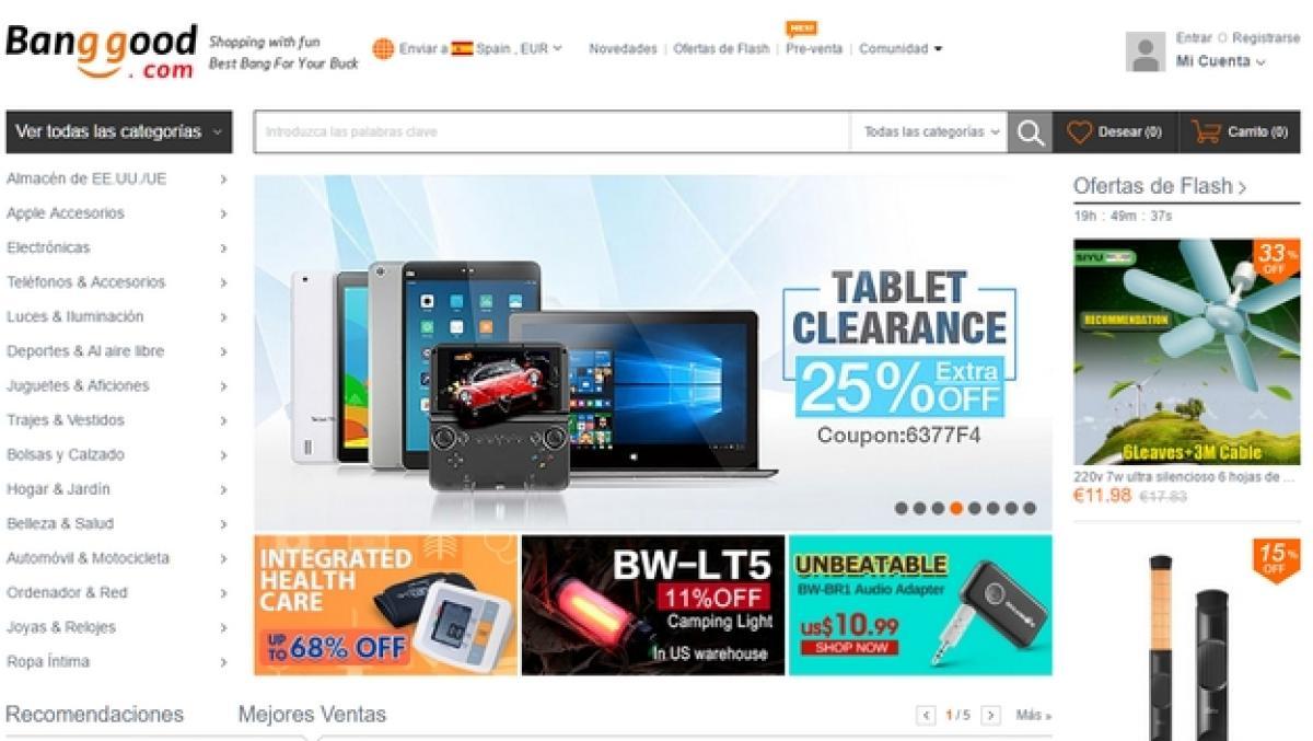 Buena suerte Cinco Ser amado  Las mejores web chinas de electrónica con envío gratuito   Tecnología -  ComputerHoy.com