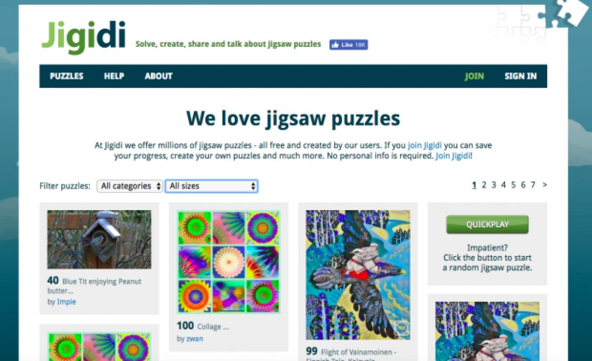 Las Mejores Páginas Web Para Hacer Puzzles Online