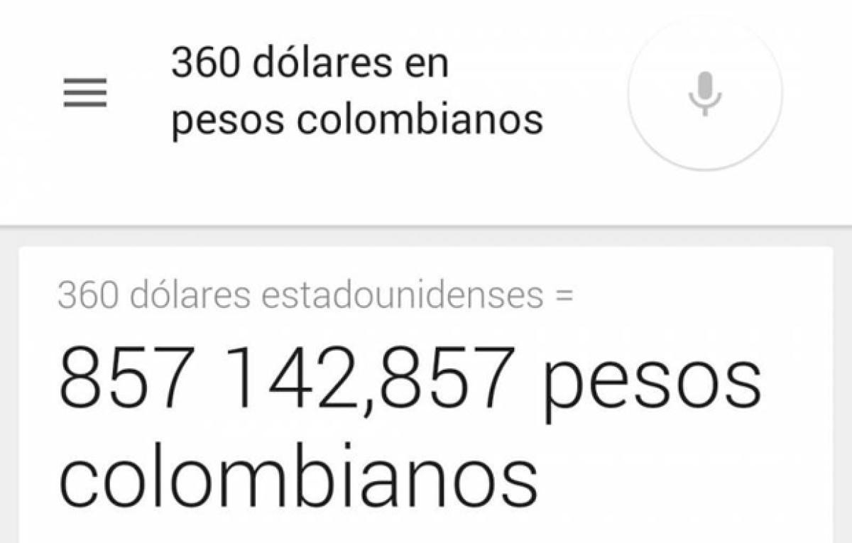 Convertir Dolares A Pesos Colombianos