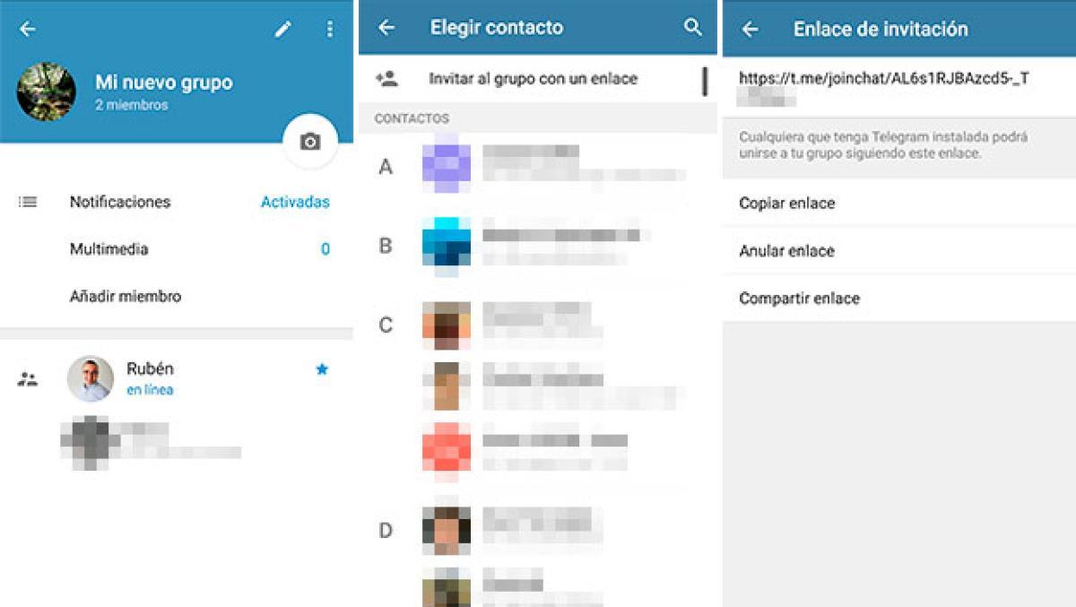 Como Crear Unirte Y Buscar Grupos Y Canales De Telegram