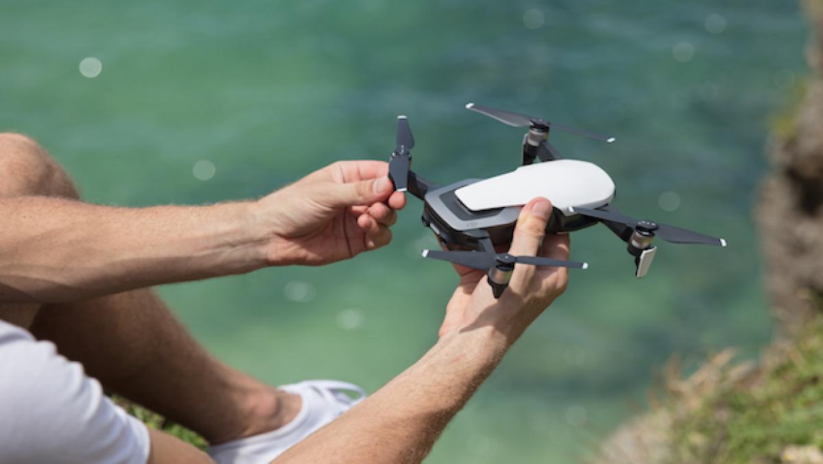 Mavic Air: DJI perfila sus drones potentes, pero portátiles