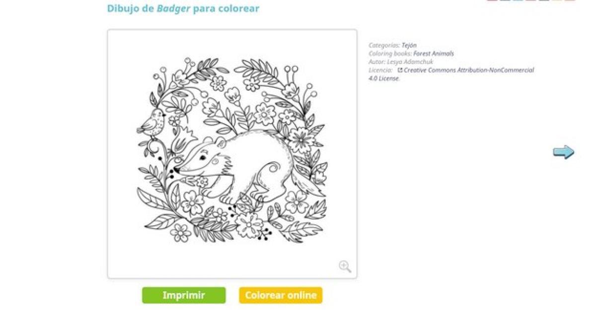Las Mejores Webs Para Descargar Imagenes Para Colorear