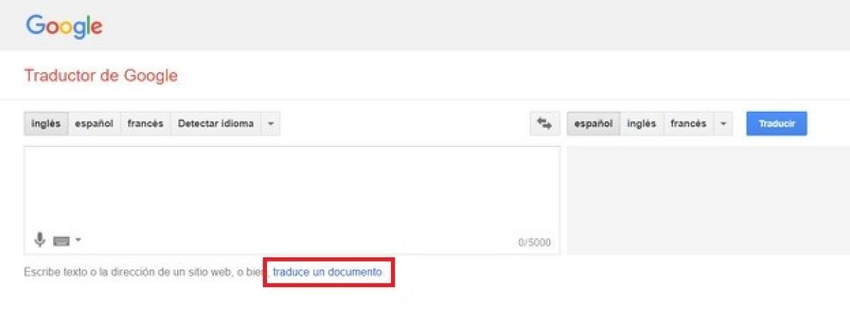 Ingles traduccion al espanol texto de de Traducción texto