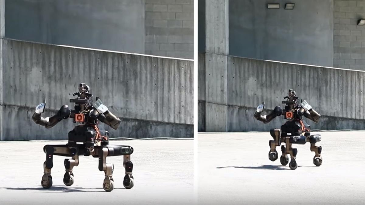Este robot centauro salvará muchas vidas