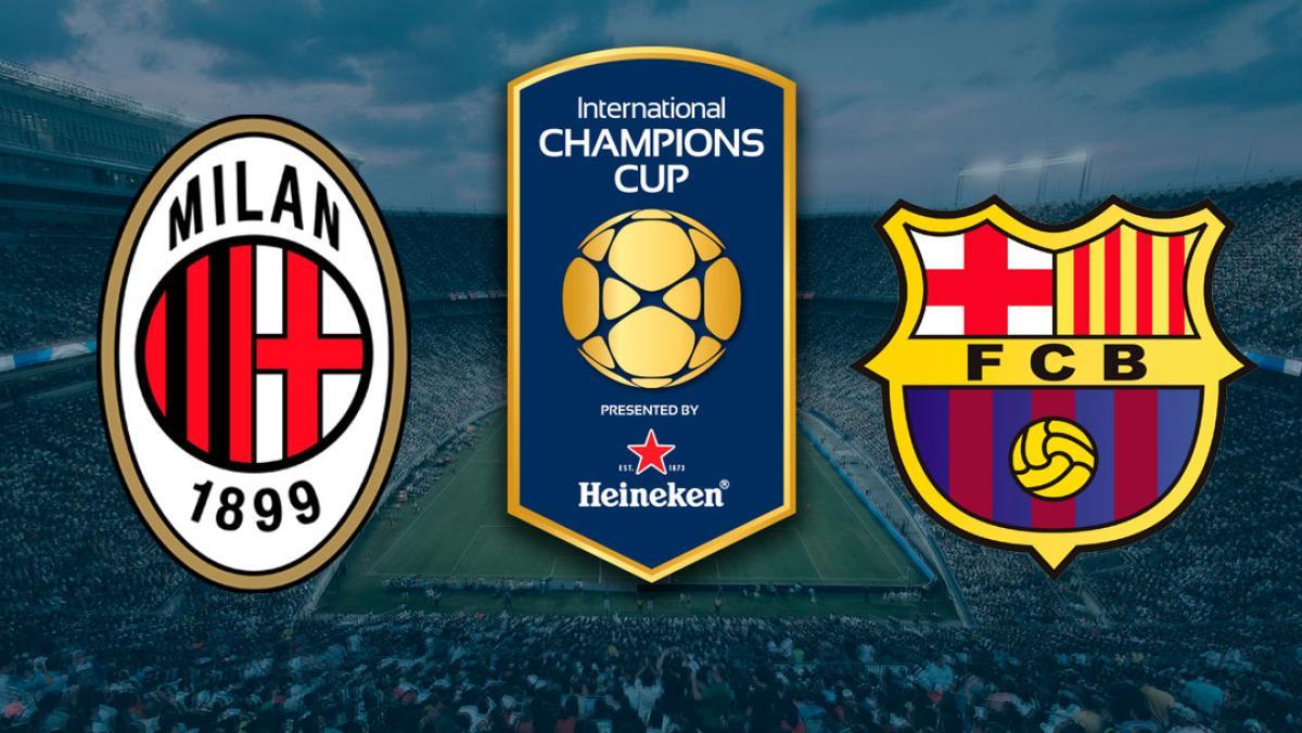 AC Milan vs FC Barcelona: cómo ver por Internet la ...