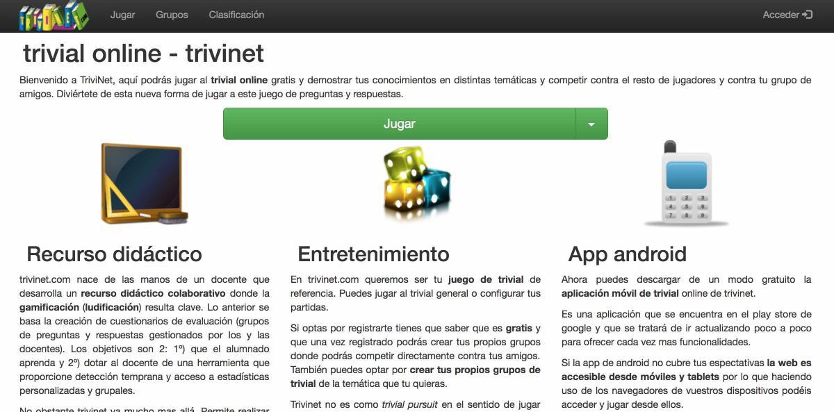 Las Mejores Paginas De Trivial Online Para Jugar Gratis Gaming Computerhoy Com