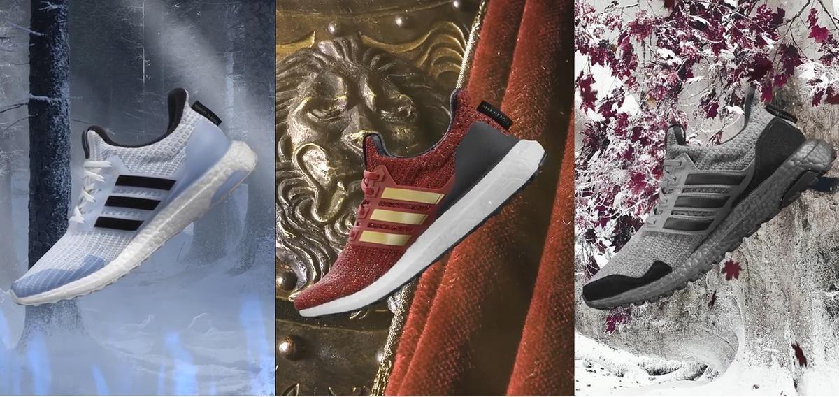 Las deportivas Adidas Juego de Tronos, a la venta el 22 de marzo