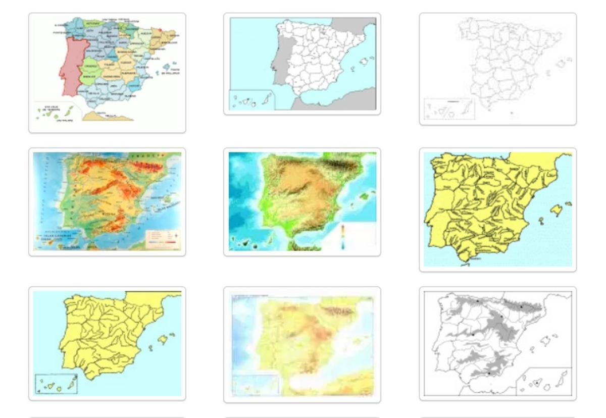 Dónde Bajar Mapas De España En Color En Blanco Y Negro Y Más Tecnología Computerhoy Com