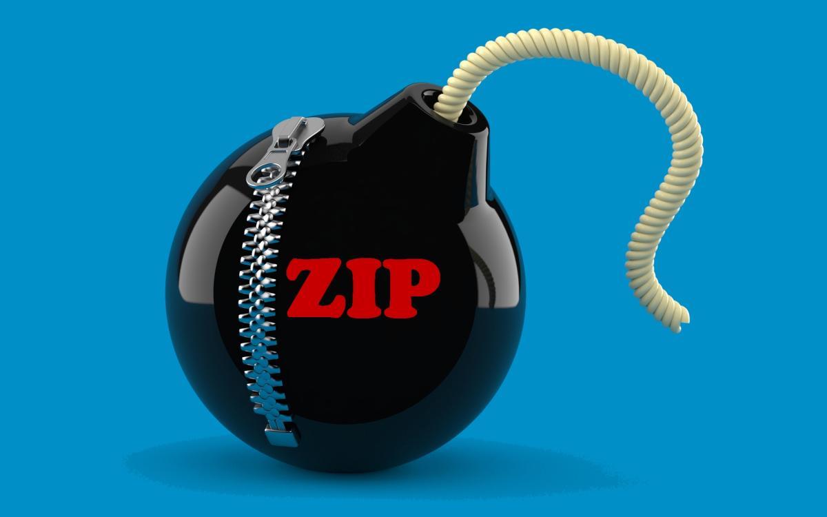 Crean una bomba ZIP de 46 MB que se expande a 4,5 Petabytes, inutilizando cualquier PC