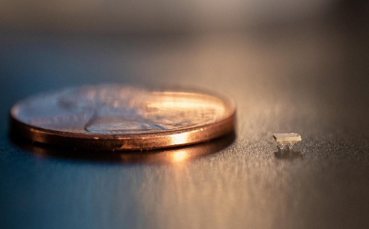 Estos micro robots del tamaño de una mota de polvo se mueven por sonido