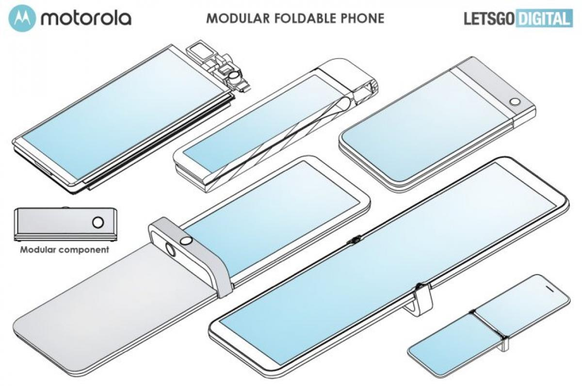 Móvil modular Motorola Razr