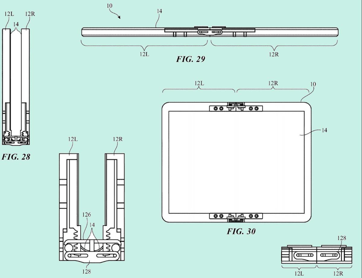 iPhone plegable, patente de Apple