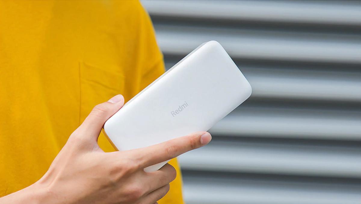 Xiaomi te carga el móvil: su Power Bank Redmi de 20.000 mAh baja a sólo 21 euros en España