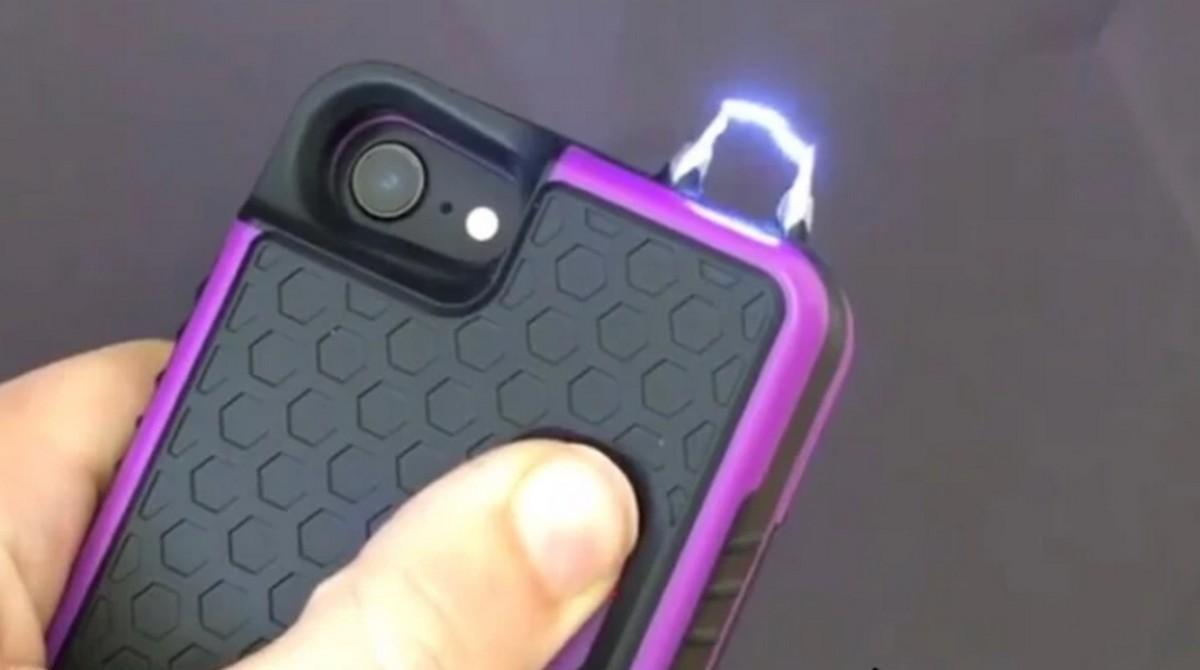 Esta funda produce una descarga eléctrica si intentan robarte el móvil o te atacan