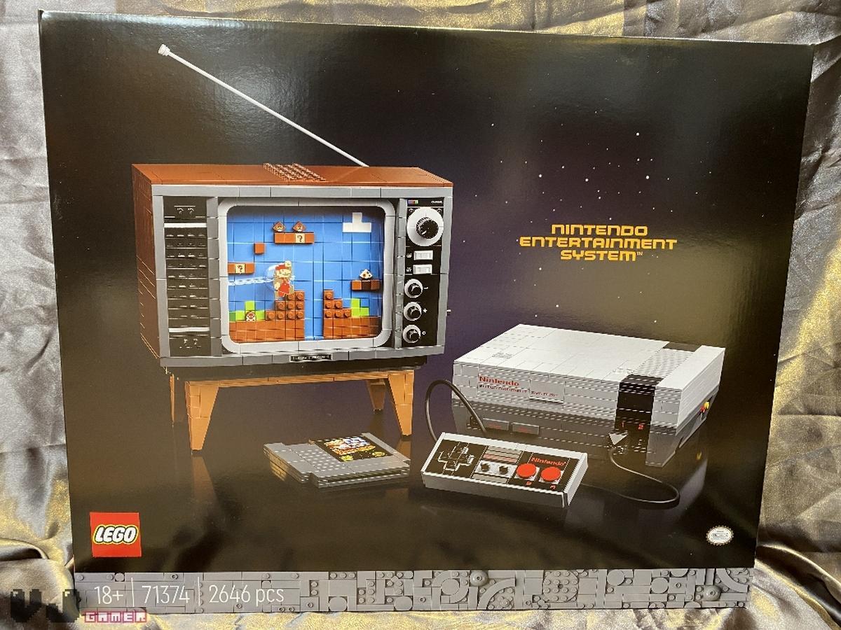 LEGO NES, construye una consola NES con ladrillos de Lego