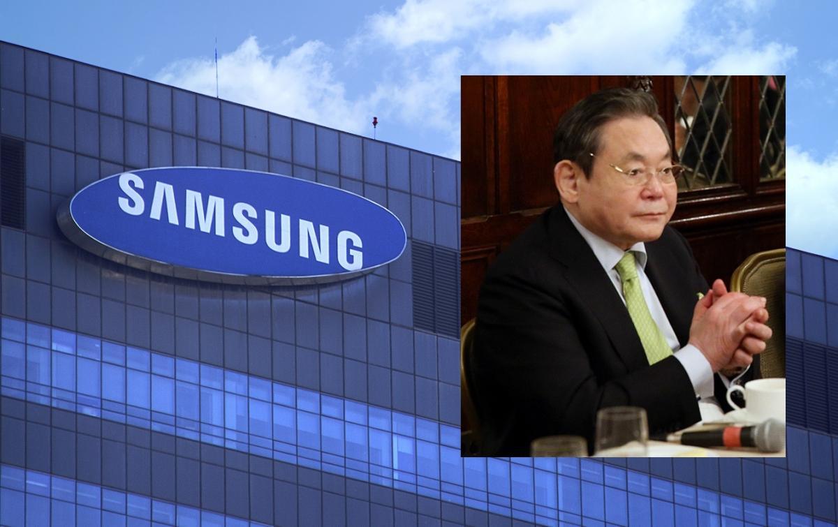 Fallece el presidente de Samsung a los 78 años de edad