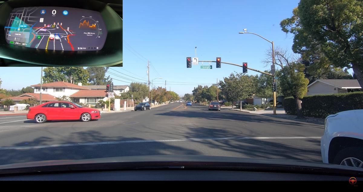 La conducción autónoma completa de Tesla llega a los usuarios: los vídeos son espectaculares