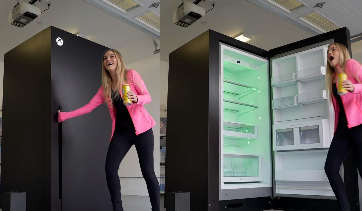 El meme es real: Microsoft crea un frigorífico Xbox Series X