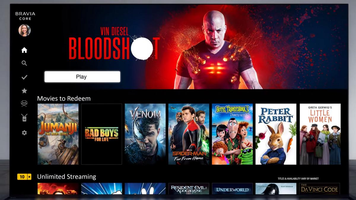 Sony Bravia Core, la nueva plataforma de streaming 4K que multiplica por 5 el bitrate de Netflix | Entretenimiento - ComputerHoy.com