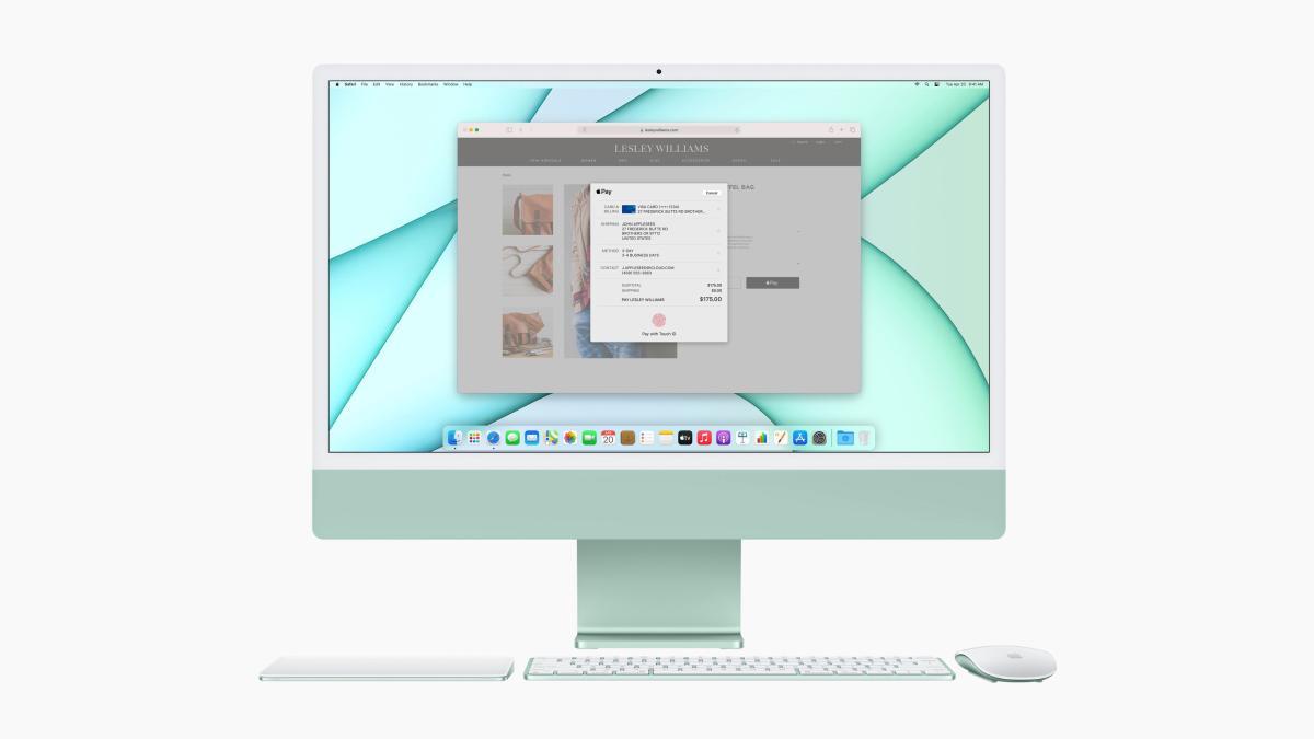 Apple iMac de 24 pulgadas