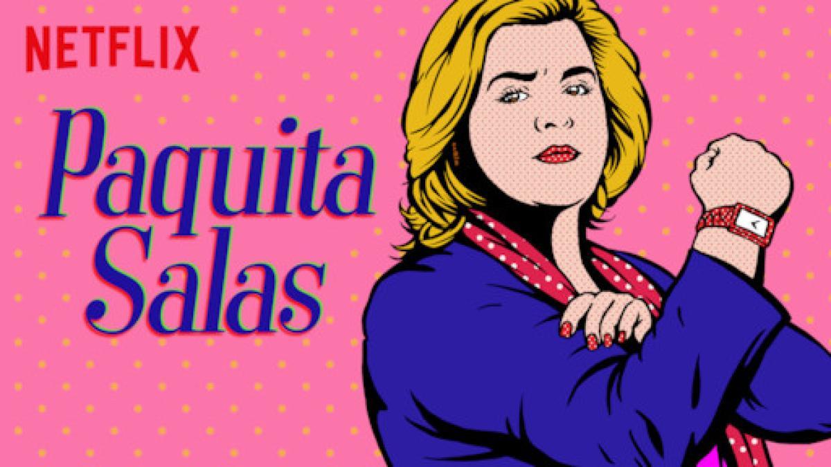 Isabel Pantoja canta la intro de Paquita Salas