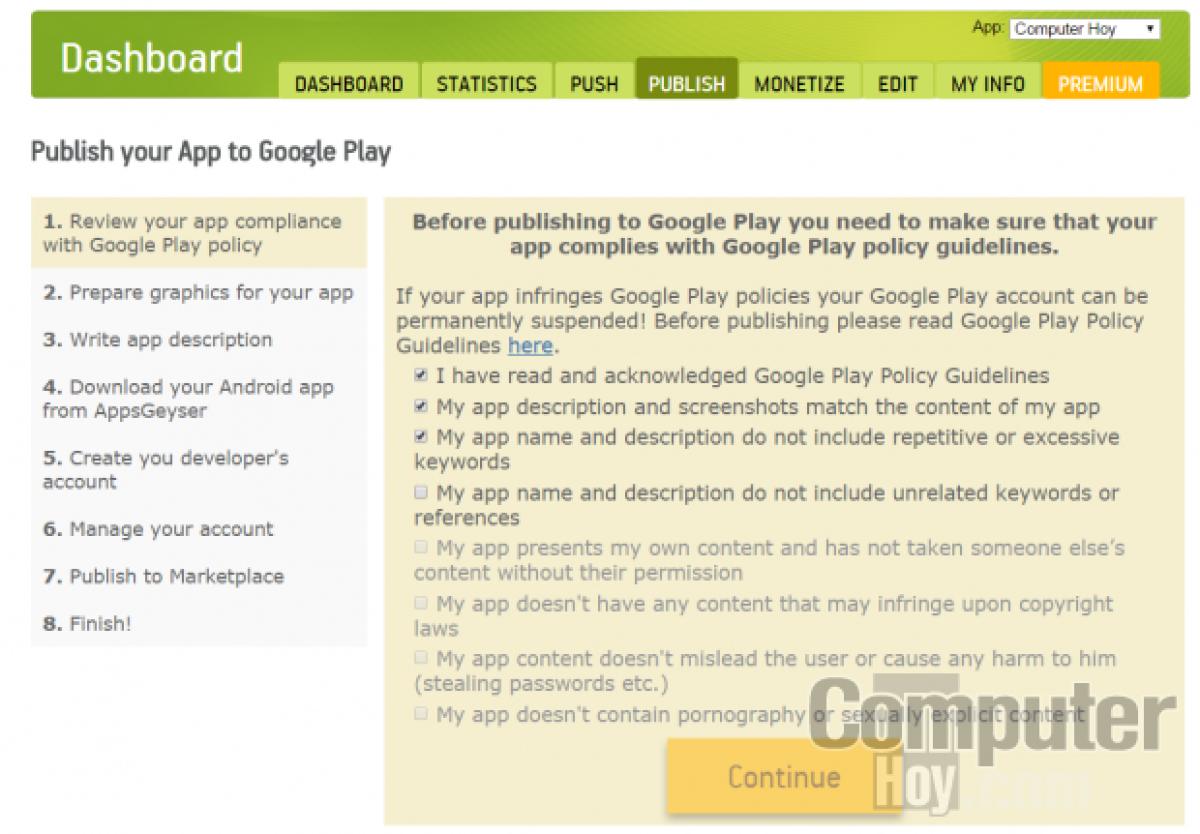Convierte tu página web en una app para Android | Tecnología