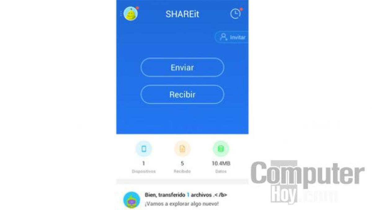 Cómo compartir archivos sin cables con SHAREit | Tecnología