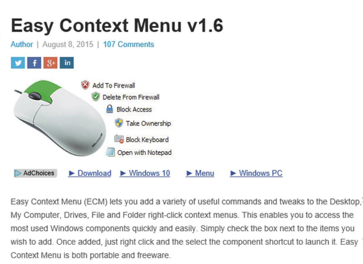 Crea tu propio menú contextual y optimiza tu trabajo en Windows