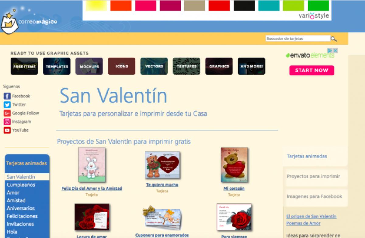 Dónde Crear Tarjetas De San Valentín Para Whatsapp Facebook Y Más