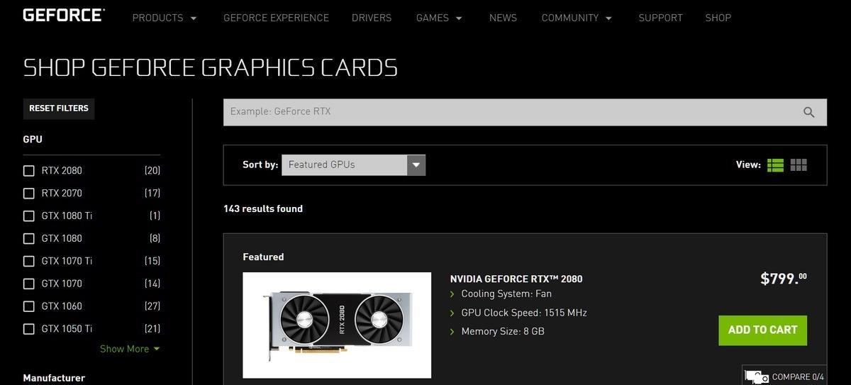 NVIDIA reconoce los problemas de la RTX 2080 Ti y la retira de su