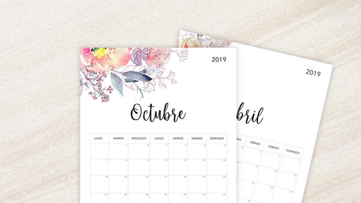 Calendario Zaragozano 2020.Descarga El Calendario 2019 Plantillas Imagenes Y Diferentes