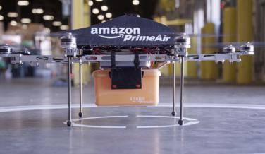 Amazon utiliza drones para sus repartos