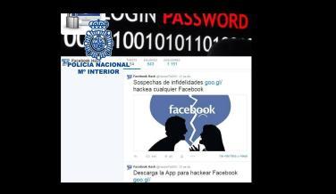 Juego de espías. Para desvelar una infidelidad, te ofrecen un programa que espía cuentas de Facebook.