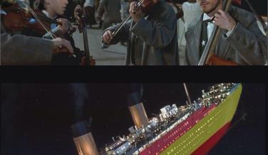 Meme con la Roja y el titanic Mundial 2014