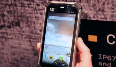 La pantalla del CAT S50 tiene una resolución de 1280x720 píxeles