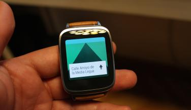 Asus ZenWatch maps