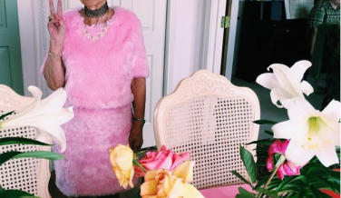 La reina de Instagram tiene 86 años y 900.000 followers