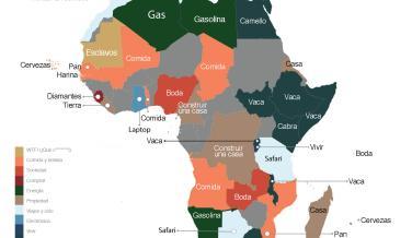palabras más buscadas en Google África