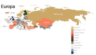 palabras más buscadas en Google Europa