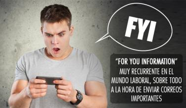 Los acrónimos más utilizados de Internet - FYI
