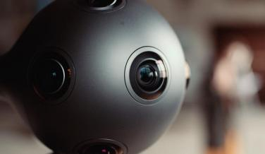 Ozo, la cámara 360 de Nokia - parte delantera
