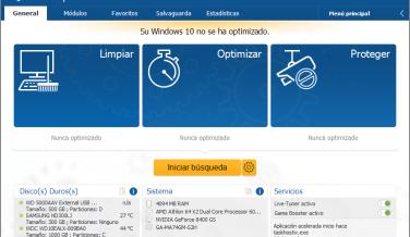 Herramientas gratuitas para Windows 10: Ashampoo WinOptimizer Free