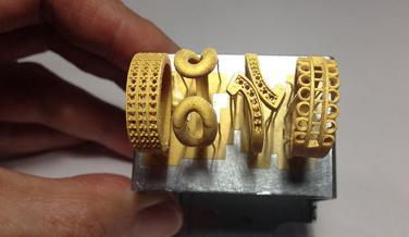 Joyas impresas en 3D por poco dinero y con materiales reciclables