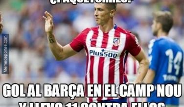 Los mejores memes del Atletico de Madrid vs Barcelona