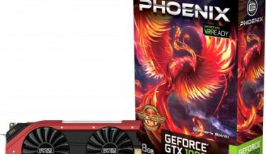 Gainward GTX 1080 Phoenix SC con OC a 1847 MHz, y 8 fases de alimentación